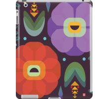 Flowerfully Folk iPad Case/Skin