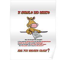 Animal Rights.  Poster