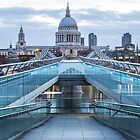 bridge and st pauls2 by Paul Campbell  Photography