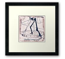 The Daddy Long Legs Framed Print