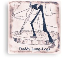 The Daddy Long Legs Canvas Print