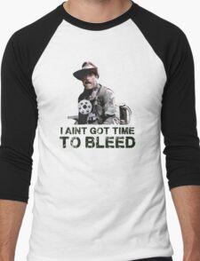 Predator I Aint Got Time To Bleed Men's Baseball ¾ T-Shirt