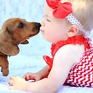 Puppy Kisses by Carol James