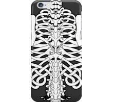 Shoulders and Spine Celtic Design White iPhone Case/Skin