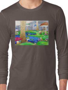 Mushroom Land Long Sleeve T-Shirt