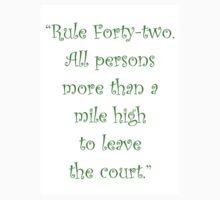 Rule 42 Kids Clothes