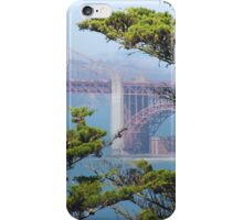 Golden Gate from Point Lobos iPhone Case/Skin