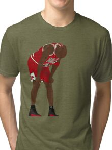 Jordan. Game 5. Flu. Tri-blend T-Shirt