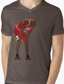 Jordan. Game 5. Flu. Mens V-Neck T-Shirt