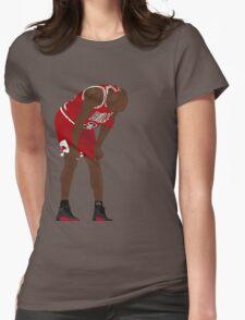 Jordan. Game 5. Flu. Womens Fitted T-Shirt
