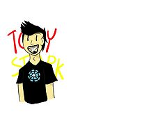 Tony Stark by raptorpizza