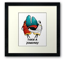 Take A Journey Framed Print
