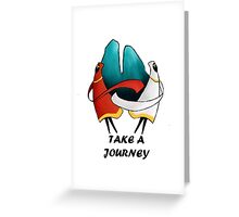 Take A Journey Greeting Card