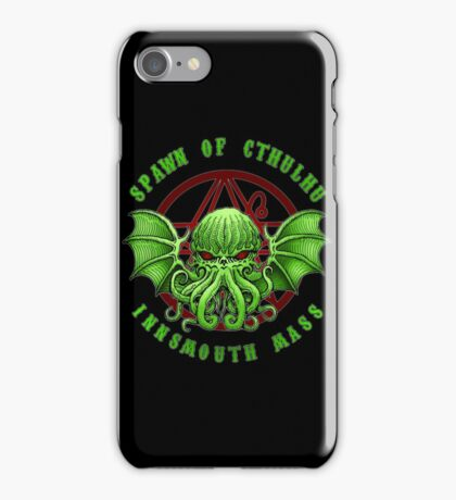 Spawn of Cthulhu - Innsmouth iPhone Case/Skin