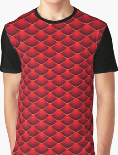 Red Dragon Scales Graphic T-Shirt