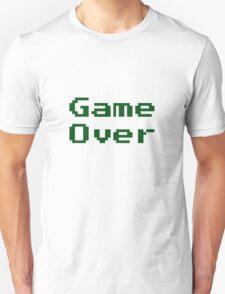 Game Over Retro Game T-Shirt Unisex T-Shirt
