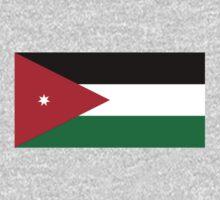 National Flag of Jordan  by abbeyz71