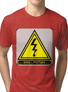 High ∆ Voltage 2.0 Rounded Corners Tri-blend T-Shirt