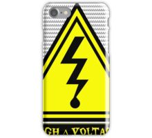 High ∆ Voltage 2.0 Rounded Corners iPhone Case/Skin