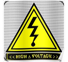 High ∆ Voltage 2.0 Rounded Corners Poster