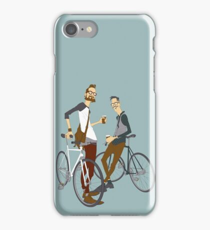 Hipster Bikers iPhone Case/Skin