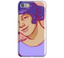 Young Woman Smiling iPhone Case/Skin