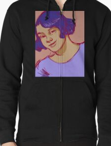 Young Woman Smiling T-Shirt