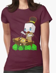 Why Hatty (battleblock theater) Womens Fitted T-Shirt