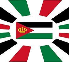 Royal Standard of Jordan  by abbeyz71