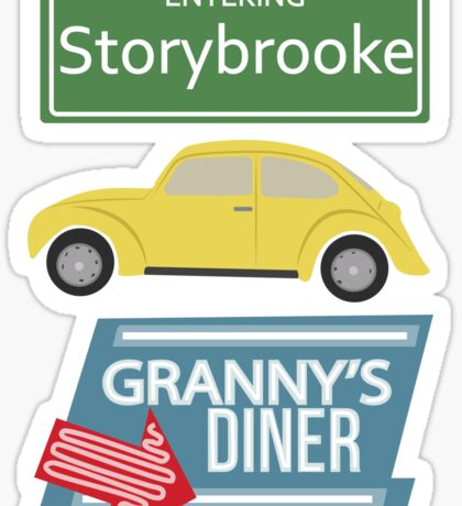 Once Upon a Time - Storybrooke Sticker