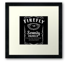 Firefly Whiskey Framed Print