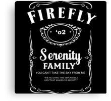 Firefly Whiskey Canvas Print