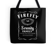 Firefly Whiskey Tote Bag