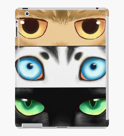 Animal Eyes iPad Case/Skin