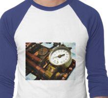 Steampunk Gauntlet 1.0 Men's Baseball ¾ T-Shirt