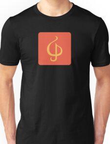 Sazabi Treble Clef Unisex T-Shirt