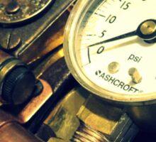 Steampunk Gauntlet 1.1 Sticker