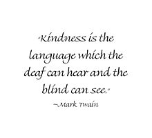 Kindness Is The Language by Amantine