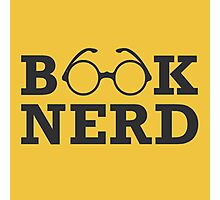 Book Nerd Photographic Print