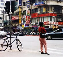 street view of taipei by Mimi Huang