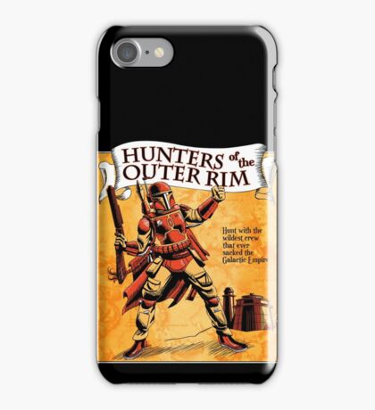 Bounty Hunters of the Outer Rim iPhone Case/Skin