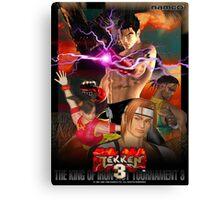 The King of Iron Fist Tournament 3 / Tekken 3 Canvas Print