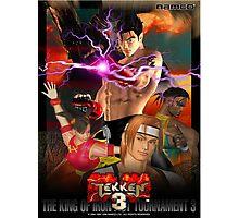 The King of Iron Fist Tournament 3 / Tekken 3 Photographic Print