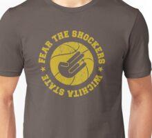 fear the shockers wichita state Unisex T-Shirt