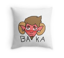 Tsundere Satan Throw Pillow