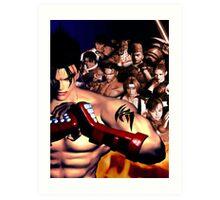 Tekken 3 Cast Art Print