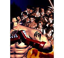 Tekken 3 Cast Photographic Print