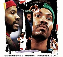 Rasheed Wallace - RAW by hermitcrab