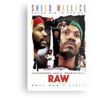 Rasheed Wallace - RAW Metal Print