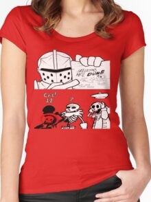 Bad Skeleton Women's Fitted Scoop T-Shirt
